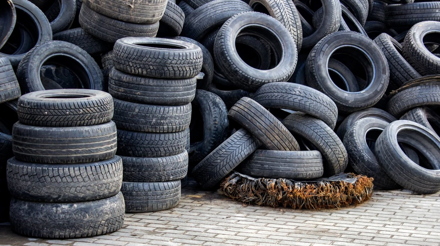 Recycled Tires Create Stronger Concrete