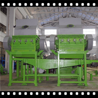Advanced Granulator / Crusher for Waste tires recycling to rubber granules