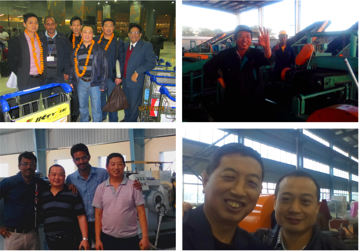 Tire Recycling Machine experts