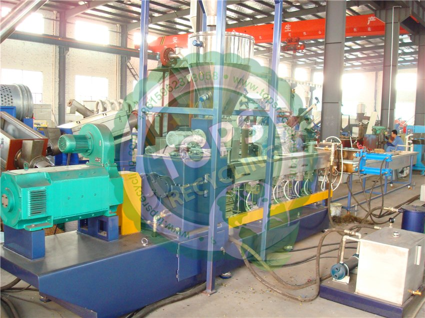 PE, PP, PS, ABS, PC, PMMA Granulating / Pelletizing Machine