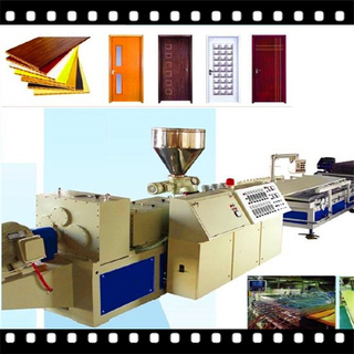 PVC WPC Wood Plastic Board, Panel, Sheet Extrusion Line